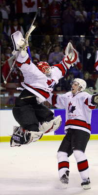 Olympic Hockey Gold - Salt Lake City