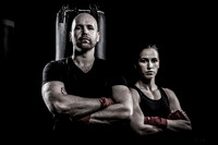 Chris Reid, CEO Sortable with Olympic boxer, Mandy Bujold